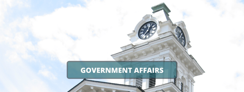Governement Affairs Banner