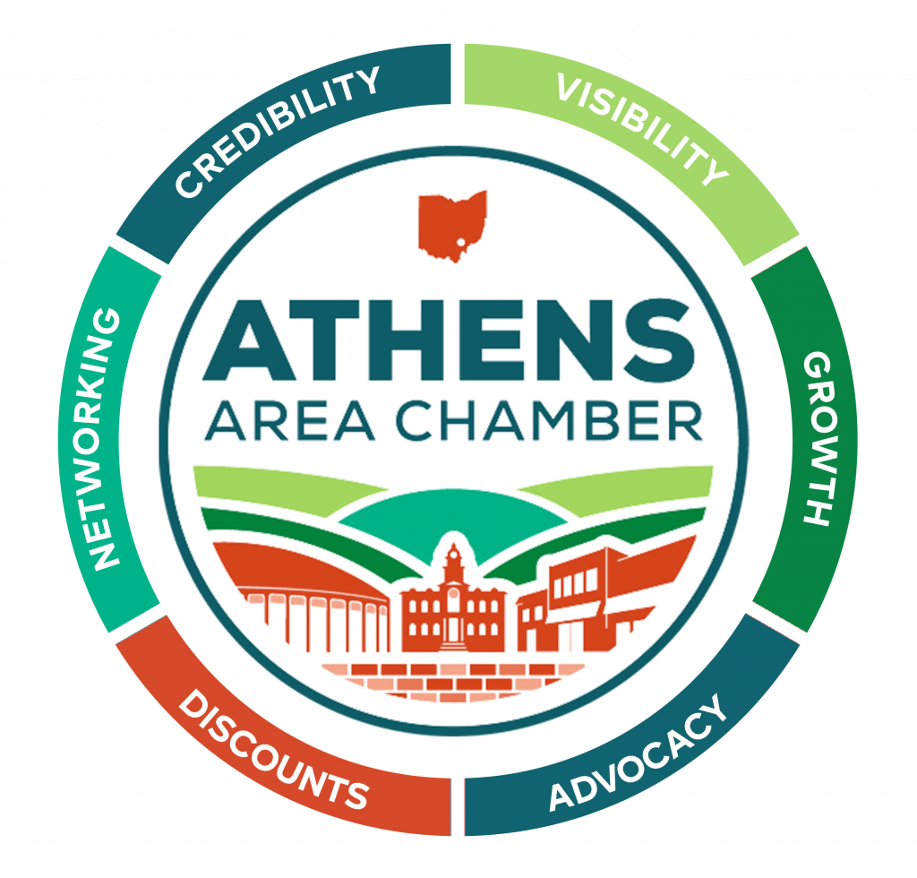 Athens Area Chamber of Commerce Member Benefits Logo