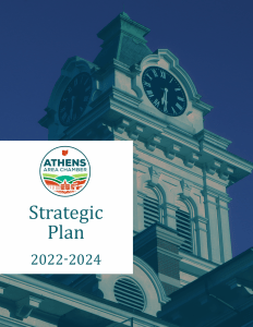 Athens Area Chamber of Commerce 2022-2024 Strategic Plan Cover