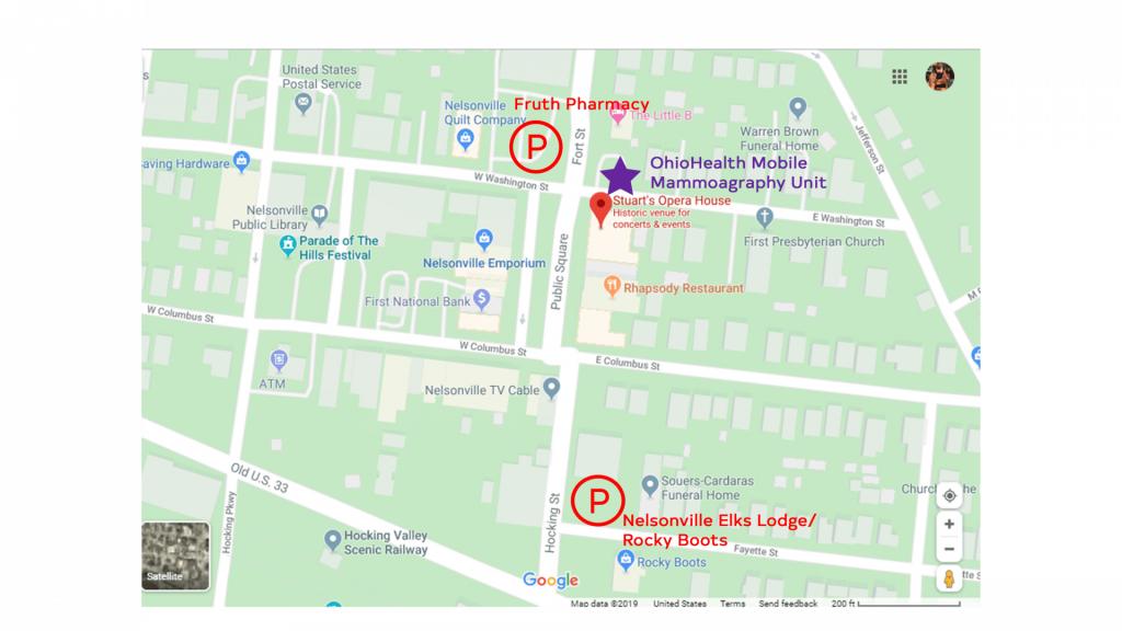 2021 Women's Summit Event Parking Map